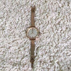 Rose Gold Worthington Watch